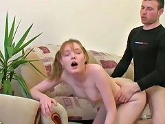 Free Porn Insatiable Nympho Rides Her Boyfriend's Dick In Cowgirl Position