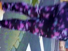 Free Porn Sporty Teen In Purple Gym Leggings - Domyos (part 2)
