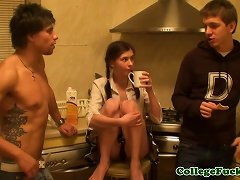 Free Porn Real Euro Teen Analfucked Until Creampied