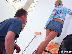 Free Porn Teenmegaworld - Old-n-young - Blonde Pays An Older Man