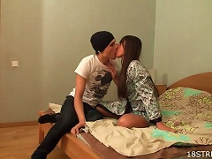 Free Porn Passionate Sex With The Horny Teens Nika And Greg