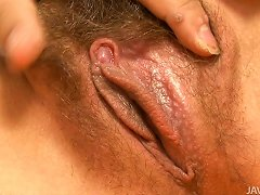 Free Porn Sexy Brunette Teen Ryo Kaede Gets Her Dirty And Hairy Pussy Fingered