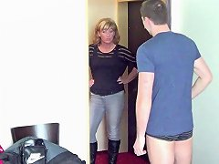 Free Porn German Young Guy Seduce Milf To Get His First Fuck