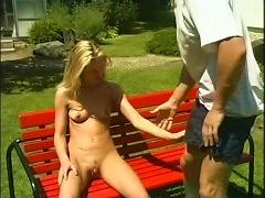 Free Porn Camilla Krabbe- Sex In The Garden (gr-2)