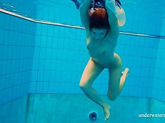 Free Porn Sexy Babe In Dress Liza Bubarek Strips Under The Water
