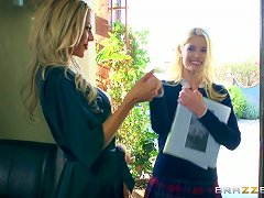 Free Porn Courtney Taylor And Charlotte Stokely Hook Up For A Nasty Lesbian Game