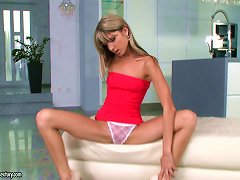 Free Porn A Seriously Skinny European Teen Is Dick Drilled