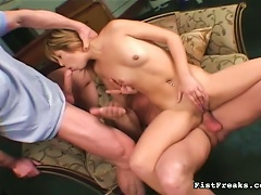 Free Porn Petite Teen Takes  In Butt