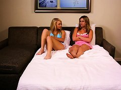 Free Porn Milf Joins A Slumber Party To Have Sex With These Teen Girls