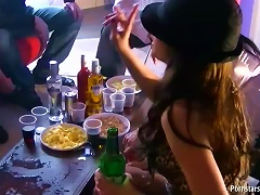 Free Porn Party At Home With Horny And Drunk Sluts Eager For Sex
