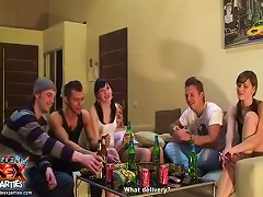 Free Porn Fun Party With Drinking And Chatting
