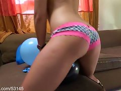 Free Porn Booty And Balloons Hd