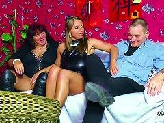 Free Porn Old German Couple Seduce Big Tit Teen To Fuck In Threesome