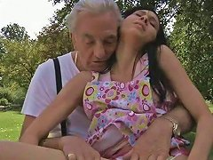 Free Porn Skinny Black Haired Teen Miho Gets Her Cooch Plowed By Lonely Geezer