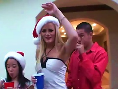 Free Porn Awesome  In Christmas Party