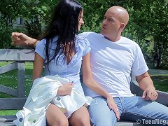 Free Porn Bald Guy Decides To Push His Dick Deep Down Martina's Sweet Asshole