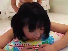 Free Porn Young Jap Lesbian Massage On The Floor