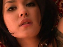 Free Porn Brunette Has A Hairy Hungry Pussy For All Kinds Of Dildos