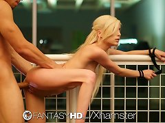 Free Porn Fantasyhd - Submissive Teen Piper Perri Tries Bondage Sex