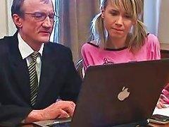 Free Porn Horny Teacher Seducing Teen