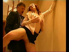 Free Porn Fucking The Young Chick From His Office