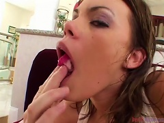 Free Porn Busty And Booty Teen Babe Gets Med In Her   And Hole
