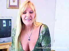 Free Porn Amateur Mature Blonde Woman Sucking A Younger Big Black Cock