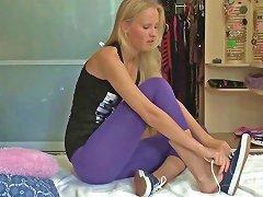 Free Porn Flexible Teen Banged Hard