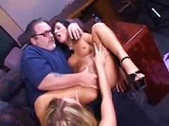 Free Porn Older Guy Plays With Two Cuties