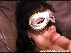 Free Porn Chiara Is A Young Italian Who Hides Behind A Mask And Does  Porn