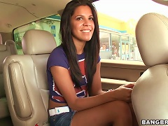Free Porn Teen  Needed A Ride And Got One In Her