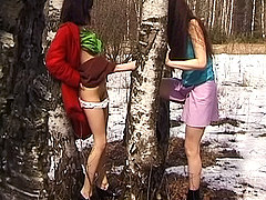 Free Porn Body  Painted Girlfriend  Teenie  From  Philippines Just  In  Panties In  The  Clothing  Store