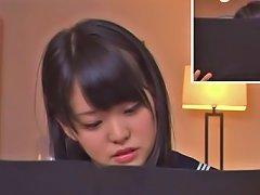 Free Porn Teen Schoolgirl Kurumi Tachibana Focuses While Vibrated