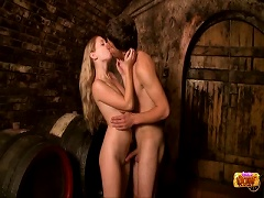 Free Porn Fucked By The Wine Barrels