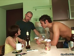 Free Porn Watch This Nasty Mmf Threesome  On The