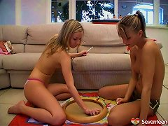 Free Porn Am Sure You Want To See How These Kinky Lesbians Play With Their Moist Muffs