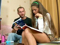 Free Porn Vera Is A Schoolgirl Whose Anus Needs To Be Bonked With A Cock!