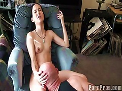 Free Porn Slim Chick Fucked By  Guy