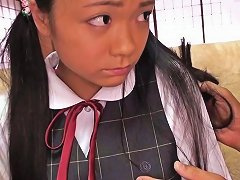 Free Porn Tiny Busty Japanese Schoolgirl Clit Stimulated