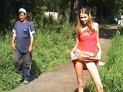 Free Porn Park  With  Teen