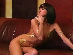 Free Porn Body Paint On Tight Teen Body