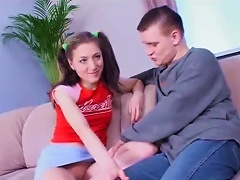 Free Porn Take A Look At This Hot Video Of Teen  And Her Fella Fucking Harsh