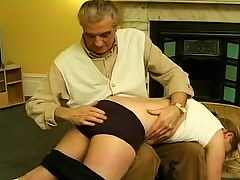 Free Porn Young  Spanked And Paddled Hard
