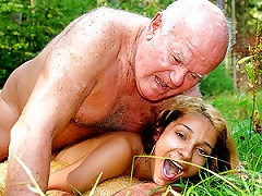 Free Porn Horny Latina Teen Gets Her   Fucked By An Old Fart Outdoors