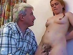 Free Porn Teen Shows Off Her  Twat To Her Horny Dad