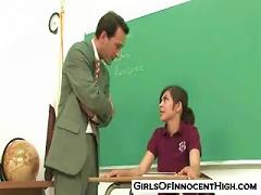 Free Porn Teen Heather Vahn Does Her Teacher