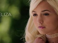 Free Porn Angelic Blonde Teen Plays With Bbc For The First Time
