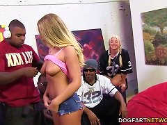 Free Porn Britney Young Enjoys Her First Interracial Gangbang