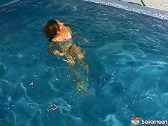 Free Porn Naked Swimming Turns On The Sexy Teens That Play Naughty