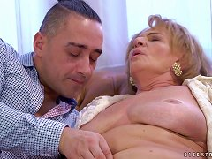Free Porn Mature Chubby Babe Sally G. Bouncing On A Pulsating Manhood